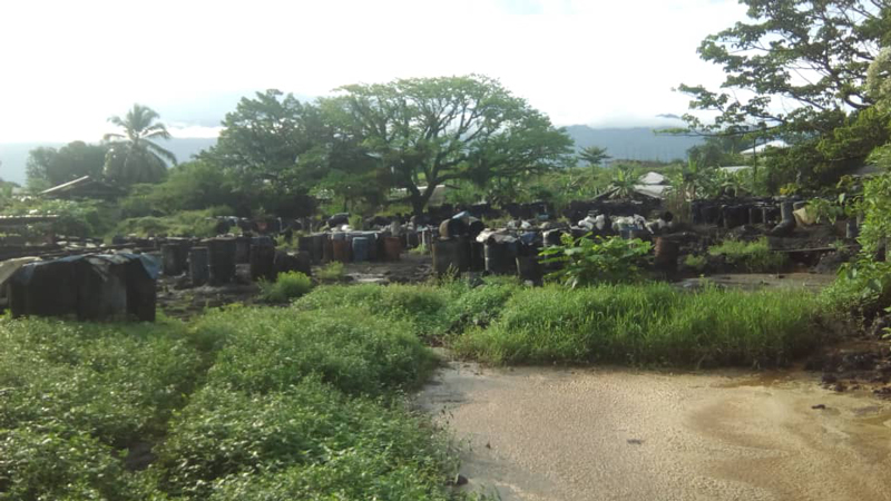 Hand-washing in Cameroon